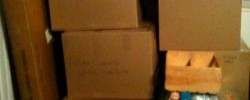 Pile of boxes