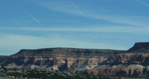 New Mexico red rocks