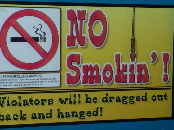 No Smokin