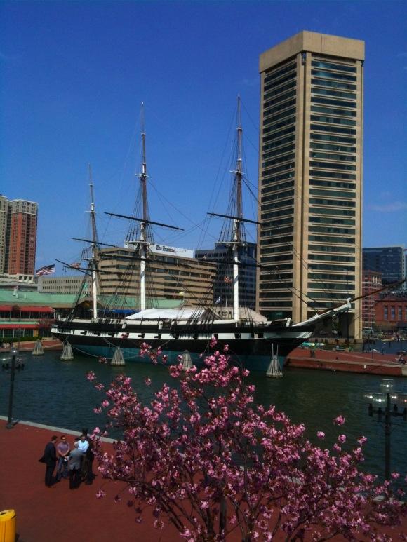 World Trade Center in Baltimore, USS Constellation