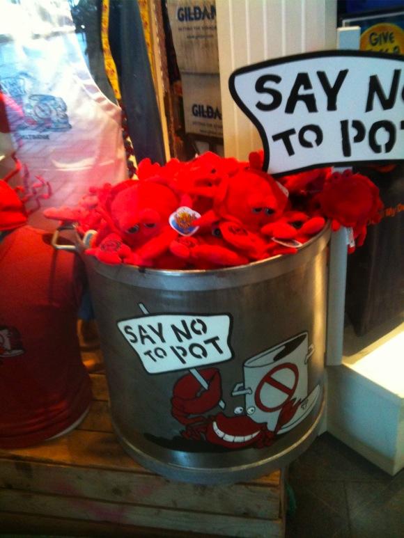 Say no to pot