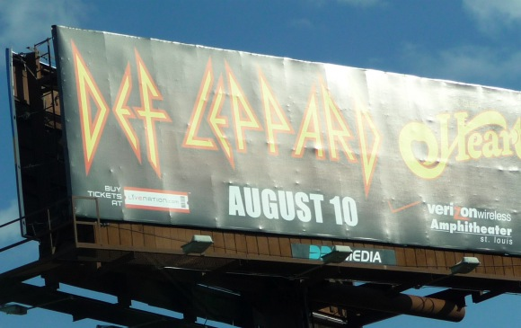 Def Leppard billboard