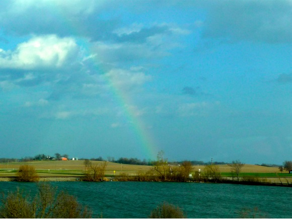 Rainbow over Illinois