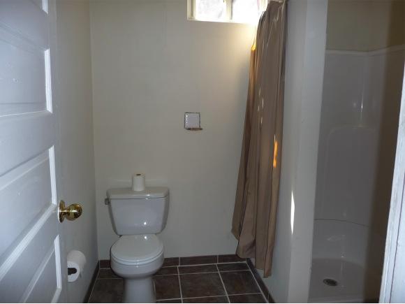 bathroom from doorway