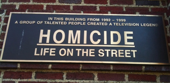 Homicide: Life on the Street Plaque