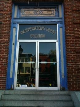 Homicide: Life on the Street Police Station entrance